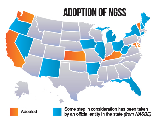 Textbook Adoption States Map.Education Blog Coleman Educational Research